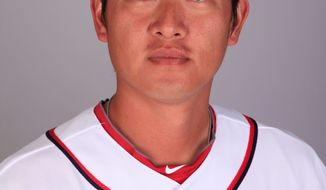 Chien-Ming Wang will start Friday for the Washington Nationals against the New York Mets. (Associated Press)