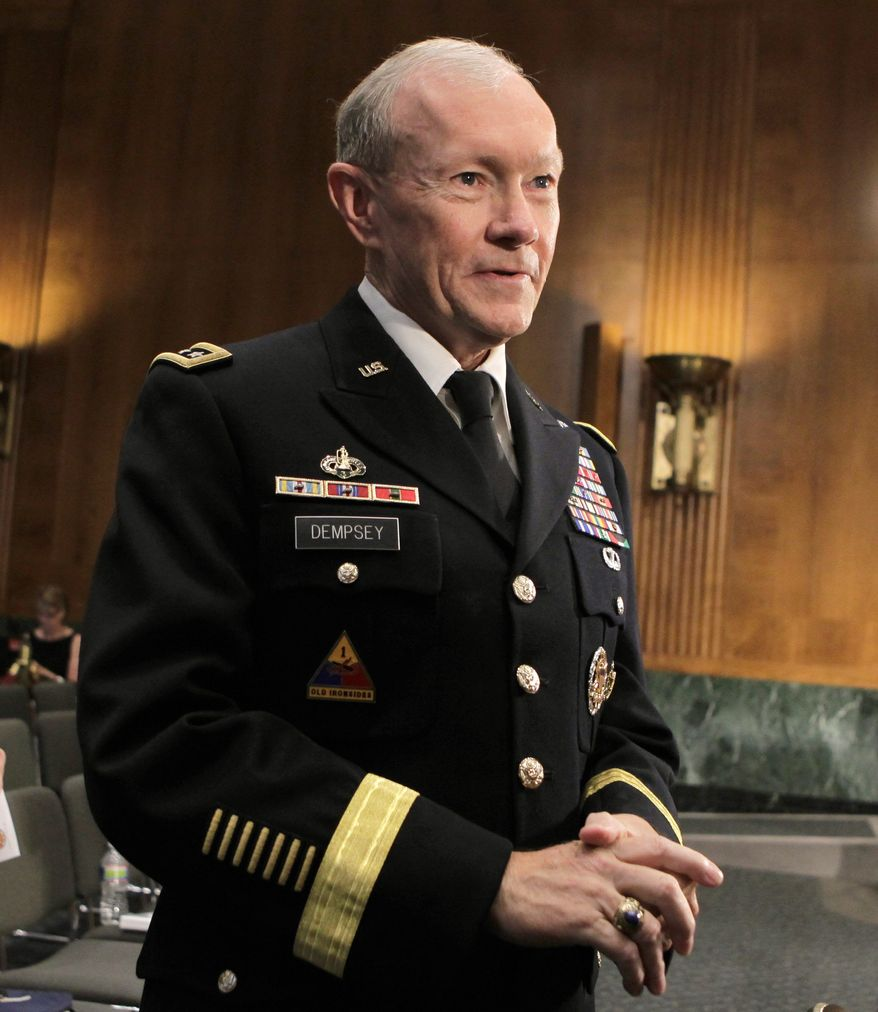 Army Gen. Martin Dempsey, chairman-designate of the Joint Chiefs of Staff, says that al Qaeda remains a threat to the U.S. and may launch new attacks. (Associated Press)