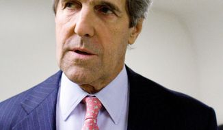 Senate Foreign Relations Committee Chairman John F. Kerry of Massachusetts is advocating for ratification of the controversial Law of the Sea Treaty. (Associated Press)