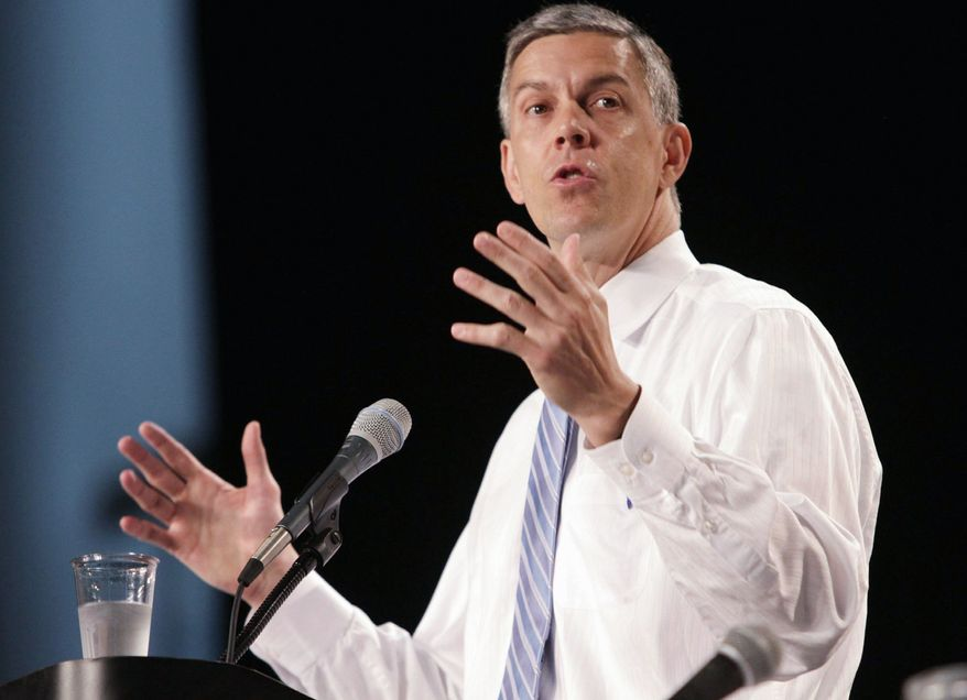Secretary of Education Arne Duncan