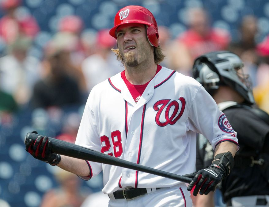 Washington Nationals right fielder Jayson Werth struggled mightily in his first year after signing a seven- year, $126 million deal last offseason. (Associated Press)