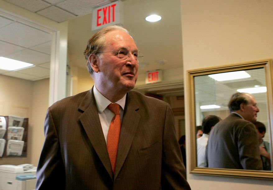 """""""We can get this done,"""" Sen. John D. Rockefeller IV, West Virginia Democrat, said Monday of efforts to resolve the partial shutdown of the Federal Aviation Administration. But Republicans later blocked a bipartisan plan to settle the funding issue, making a standoff a possibility until September. (Associated Press)"""