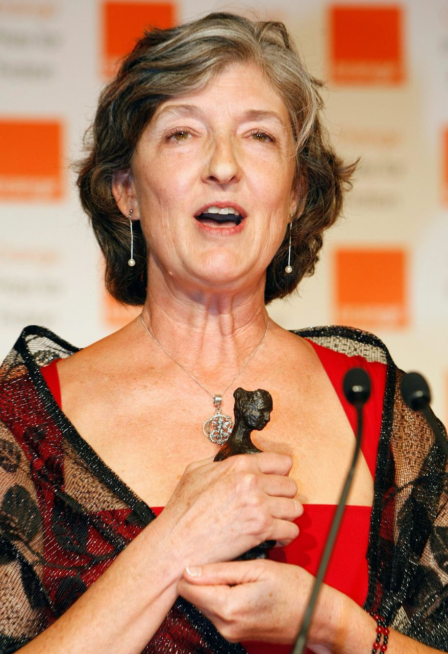 Associated Press Novelist Barbara Kingsolver is the recipient of this year's Richard C. Holbrooke Distinguished Achievement Award, a $10,000 prize that honors the late ambassador.