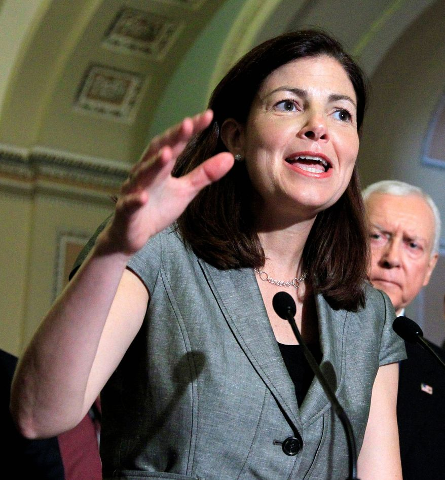 ** FILE ** Sen. Kelly Ayotte, New Hampshire Republican.