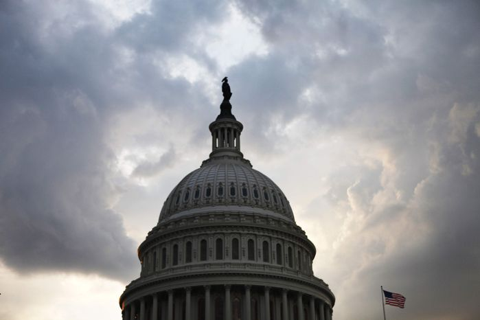** FILE ** The U.S. Capitol (AP Photo/Jacquelyn Martin)