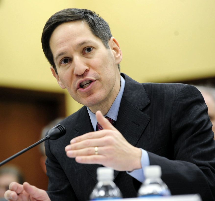 """""""The number of HIV infections remains far too high. HIV is preventable, and we need to do more to prevent it,"""" said Dr. Thomas R. Frieden, director of the Centers for Disease Control and Prevention. (The Washington Times)"""
