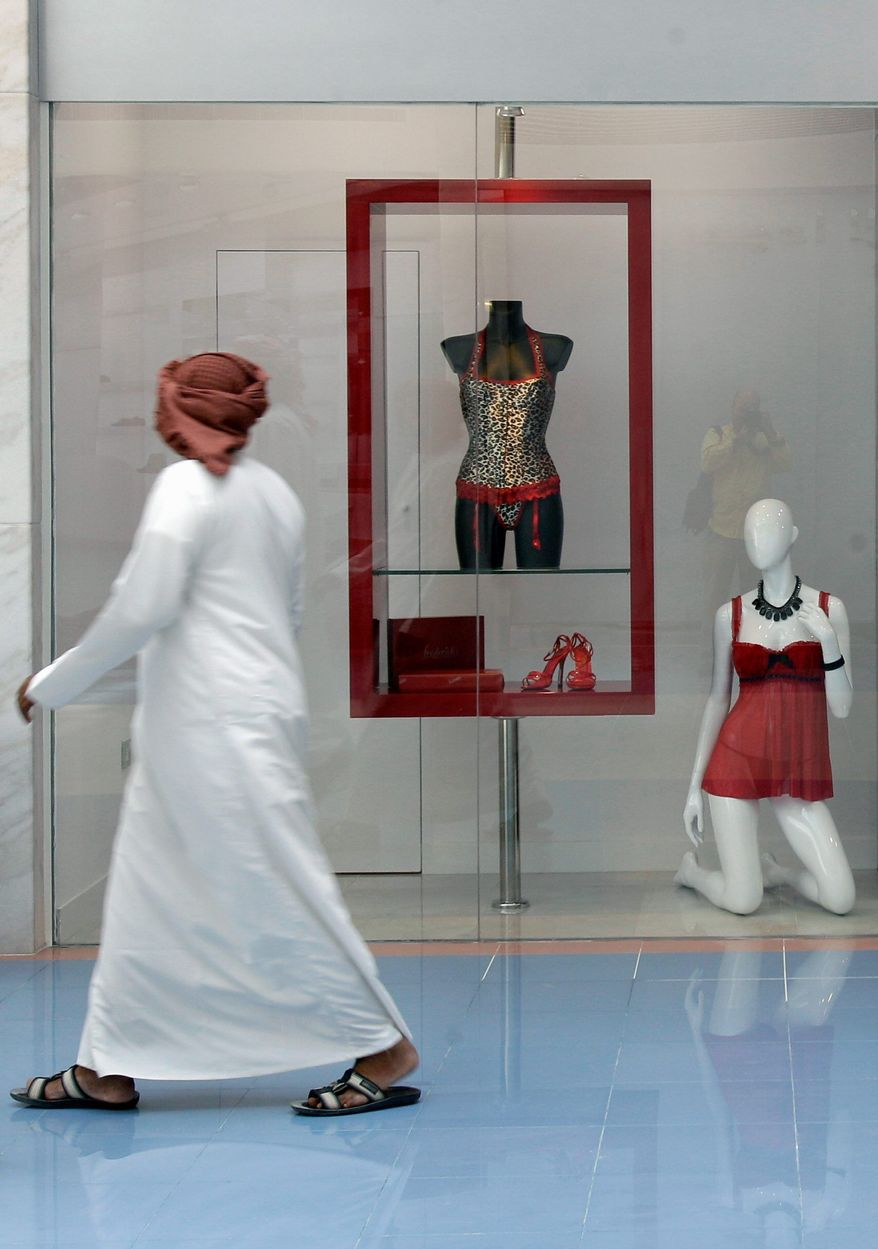 ASSOCIATED PRESS Frederick's of Hollywood CEO Thomas Lynch expects local women, who generally appear in public covered in full-length black cloaks and headscarves, and other Arabs will account for as much as two-thirds of the sales at the retailer's new store in Abu Dhabi.