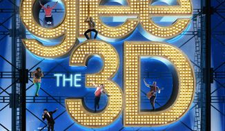 "CD cover for ""Glee The 3D Concert Movie"" motion picture soundtrack."