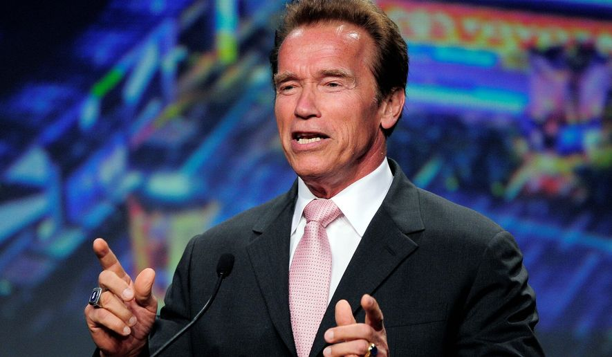 Arnold Schwarzenegger (Associated Press)