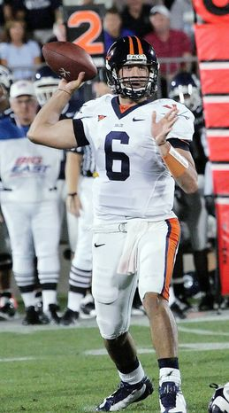 Former UVa. quarterback Marc Verica was released Wednesday by the Washington Redskins. (Associated Press)