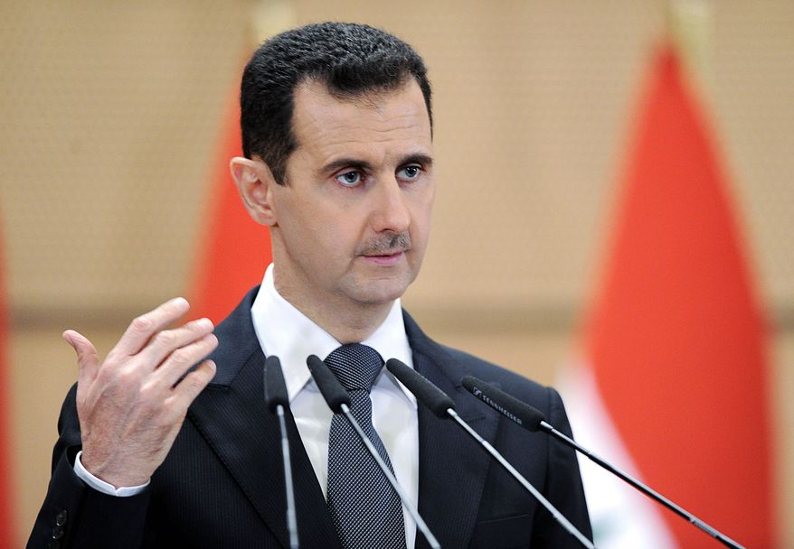 **FILE** Syrian President Bashar Assad (Associated Press/SANA)