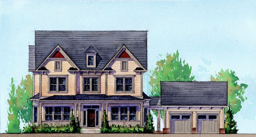 Michael Harris Homes is building 31 single-family homes on quarter-acre sites at Chestnut Lodge in Rockville. The Woodlawn model, with 3,250 square feet, is priced from $944,990.