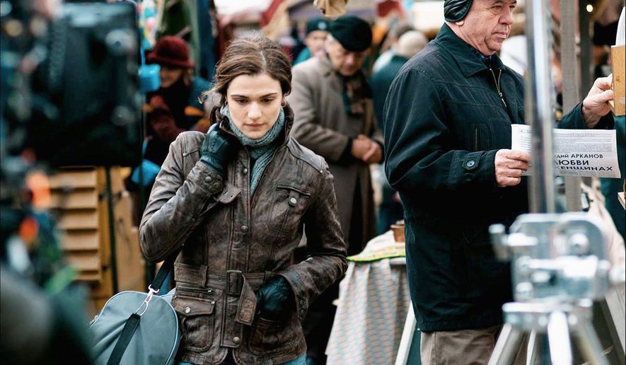 "Rachel Weisz is an engaging, forceful presence as a police investigator in ""The Whistleblower,"" which also stars Vanessa Redgrave."