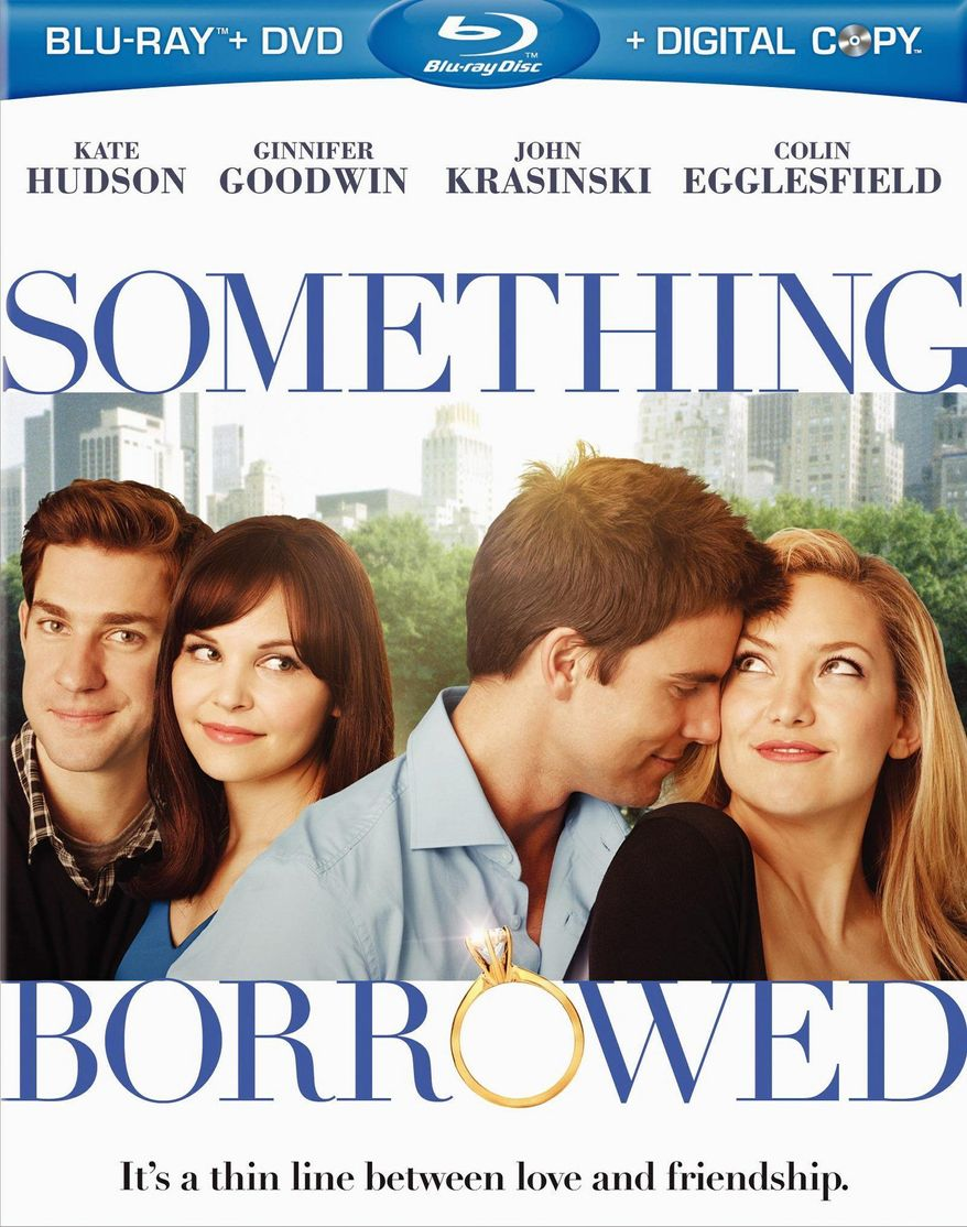 """DVD cover for """"Something Borrowed"""" released by Warner Home Video."""