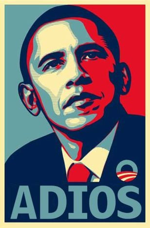 Adios Obama