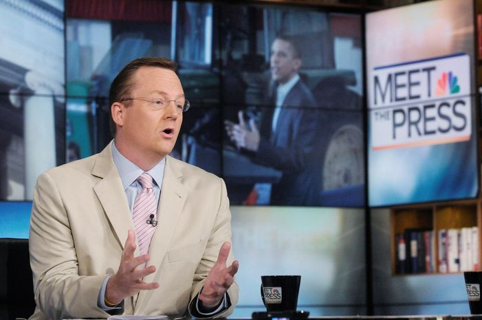 "** FILE ** Former Obama White House press secretary Robert Gibbs speaks on Sunday, Aug. 21, 2011, on NBC's ""Meet the Press."" (Associated Press)"