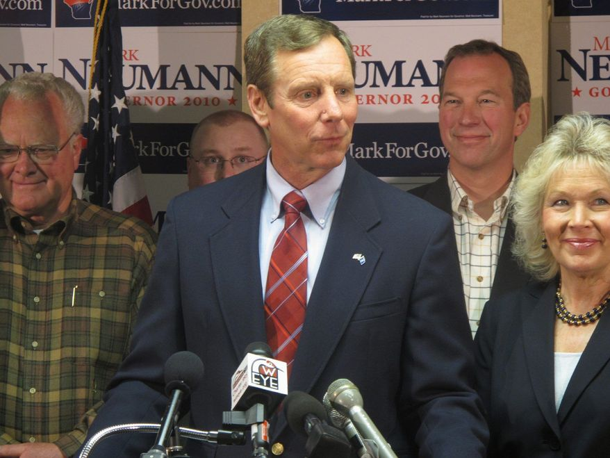 Mark Neumann, a former congressman from Wisconsin's 1st District, lost the gubernatorial nomination last year, but he enjoys solid name recognition and the personal wealth to finance a Senate campaign. (Associated Press)