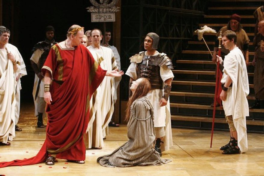 Theater: Julius Caesar - through September 4th at Sidney Harmon Hall