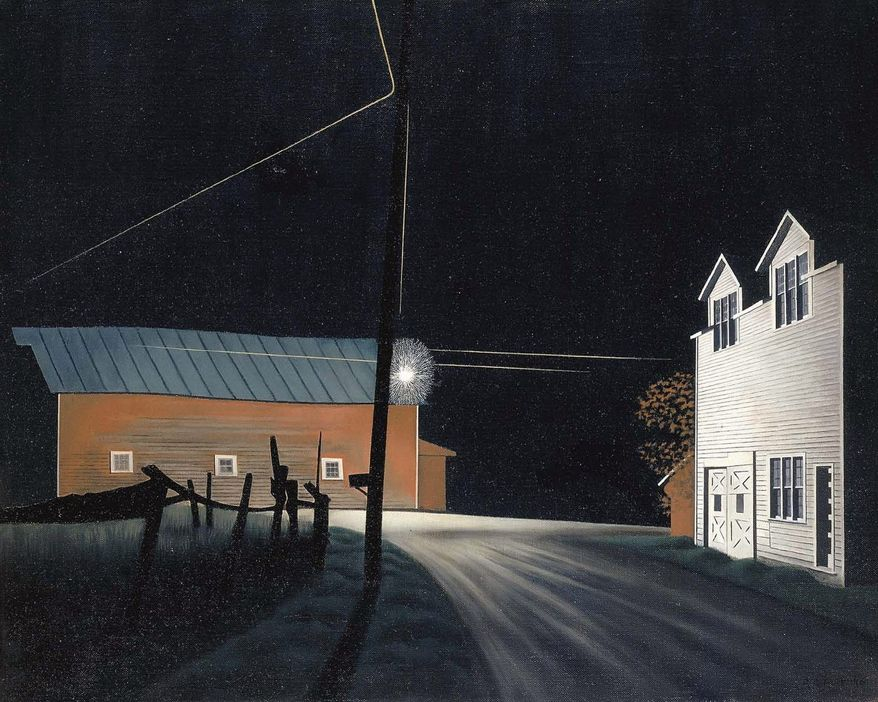 "The exhibit: ""George Ault and 1940s America"" will be at the Smithsonian American Art Museum through Sept. 5"