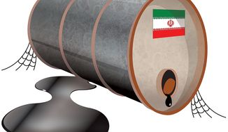 Illustration: Oil dependent by Greg Groesch for The Washington Times