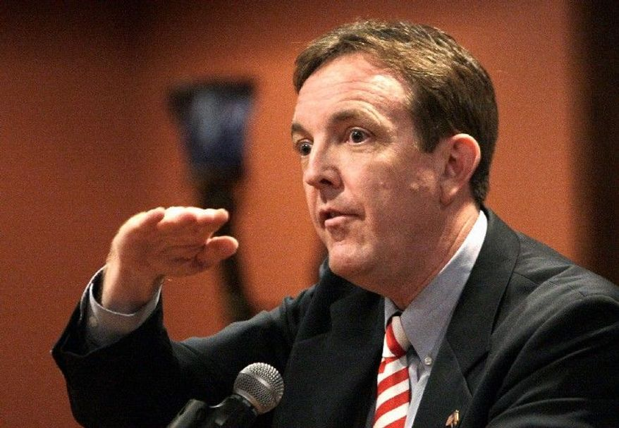 Arizona Secretary of State Ken Bennett pushed for the legislation authorizing counties and cities to use voting centers, which Phoenix will roll out Tuesday. (Associated Press)
