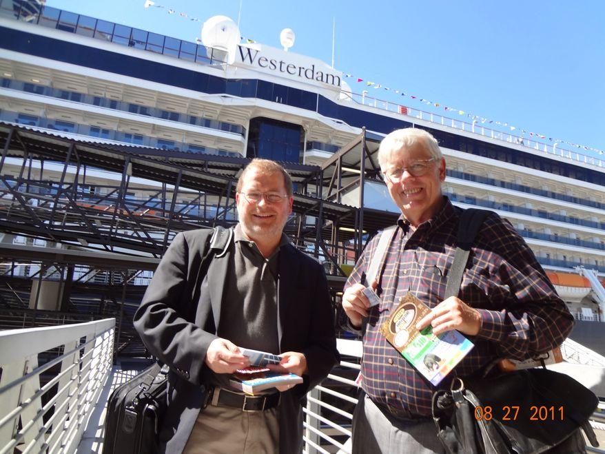 Grover Norquist and David Keene