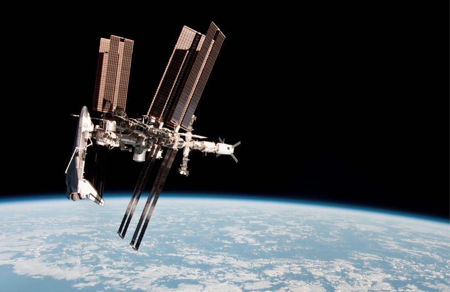 The International Space Station (NASA via Associated Press)
