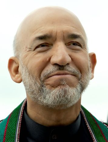 Afghan President Hamid Karzai (AP Photo)