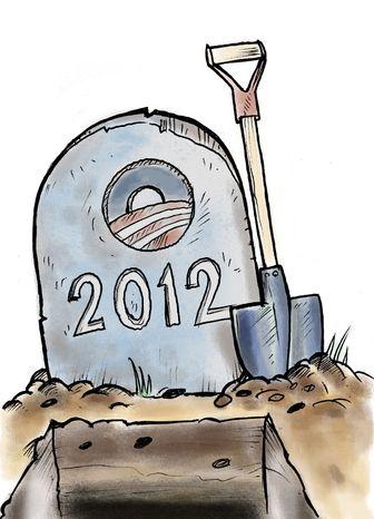 Illustration: Shovel-ready by Linas Garsys for The Washington Times