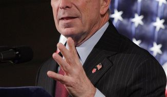 New York Mayor Michael R. Bloomberg