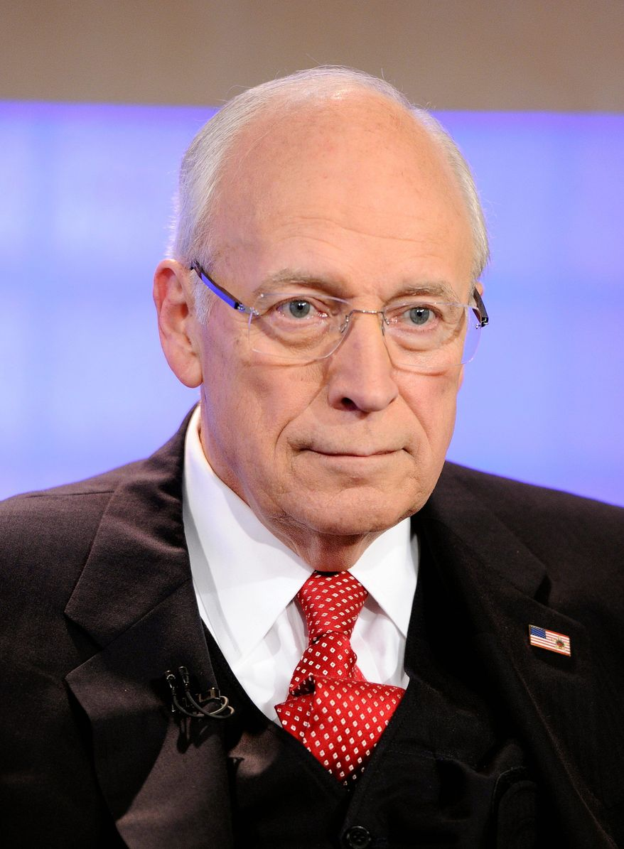"""In this image released by NBC, former Vice President Dick Cheney appears on the """"Today"""" show to talk about his new book """"In My Time,"""" Tuesday, Aug. 30, 2011 in New York. (AP Photo/NBC, Peter Kramer)"""