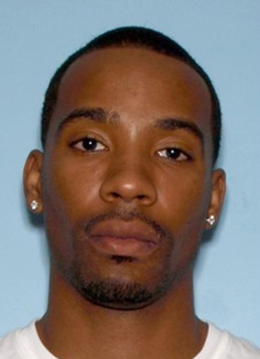 This photo of former NBA player Javaris Crittenton was released by the FBI on Aug. 29, 2011. Crittenton, who was wanted by the Atlanta Police Department on murder charges stemming from the Aug. 19 shooting of a 22-year-old woman, was arrested Aug. 30 at a Southern California airport. (Associated Press/FBI)