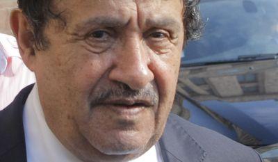 ** FILE ** Libyan Foreign Minister Abdul-Ati al-Obeidi (AP Photo/Mikhail Metzel, File)