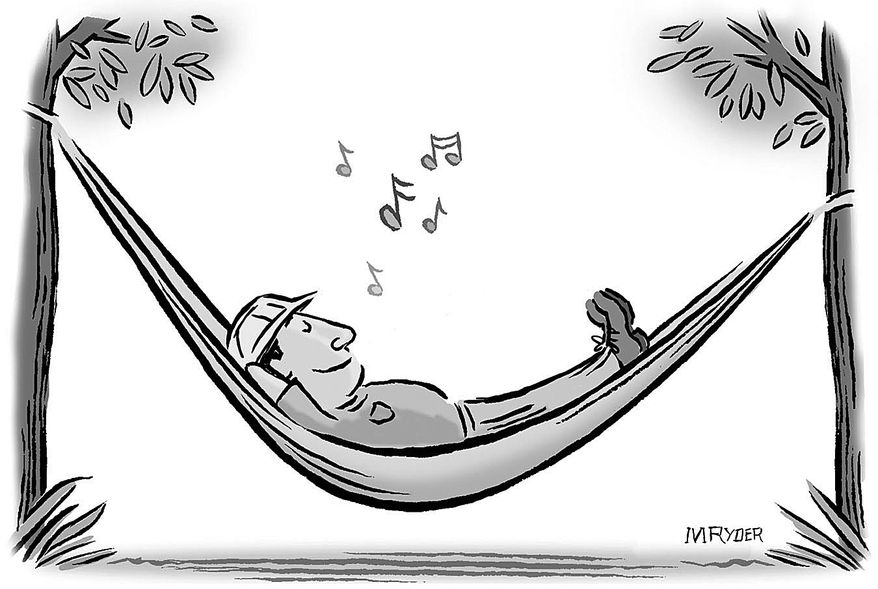 Cartoon by M. Ryder