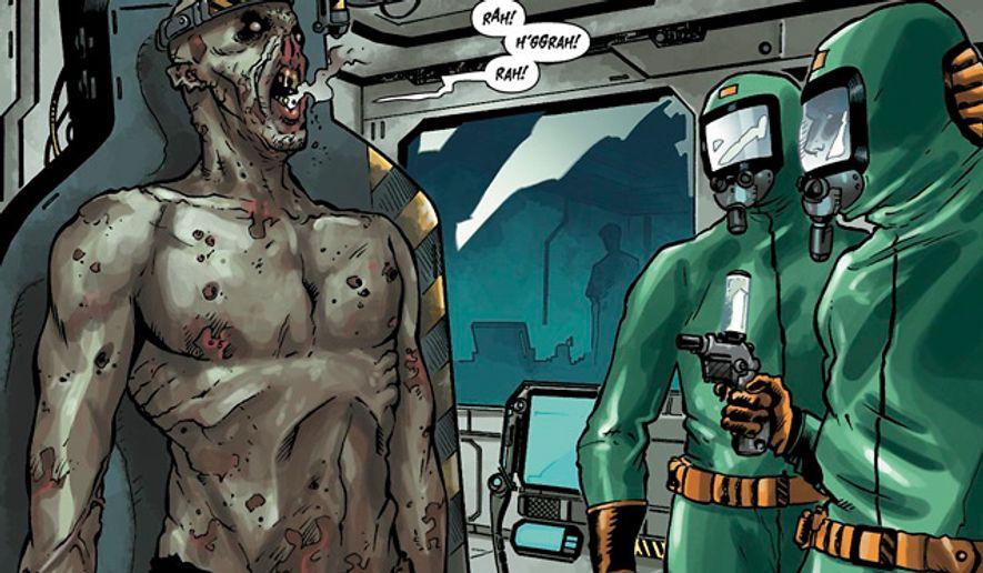 Video gamers get a taste of Rage through a Dark Horse Comics' series.