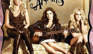 "In this CD cover image released by Columbia Nashville, the latest release by the Pistol Annies, ""Hell on Heels,"" is shown. (AP Photo/Columbia Nashville)"