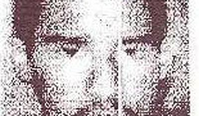 This image displayed on the public relations website of Pakistan's Inter-Services Intelligence agency shows al Qaeda member Younis al-Mauritani on Monday, Sept. 5, 2011. (AP Photo/Inter-Services Intelligence Public Relation Department)