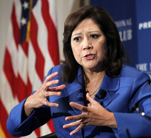 Labor Secretary Hilda L. Solis (AP Photo/Manuel Balce Ceneta)