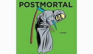 No caption, Jacket art for Drew Magary novel, The Postmortal. Handout photo