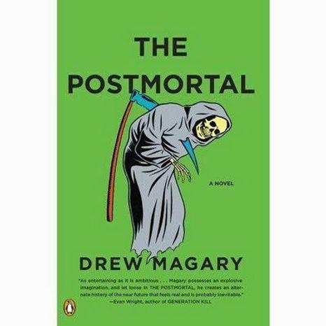 No caption, Jacket art for Drew Magary novel, The Postmortal. Handout photo