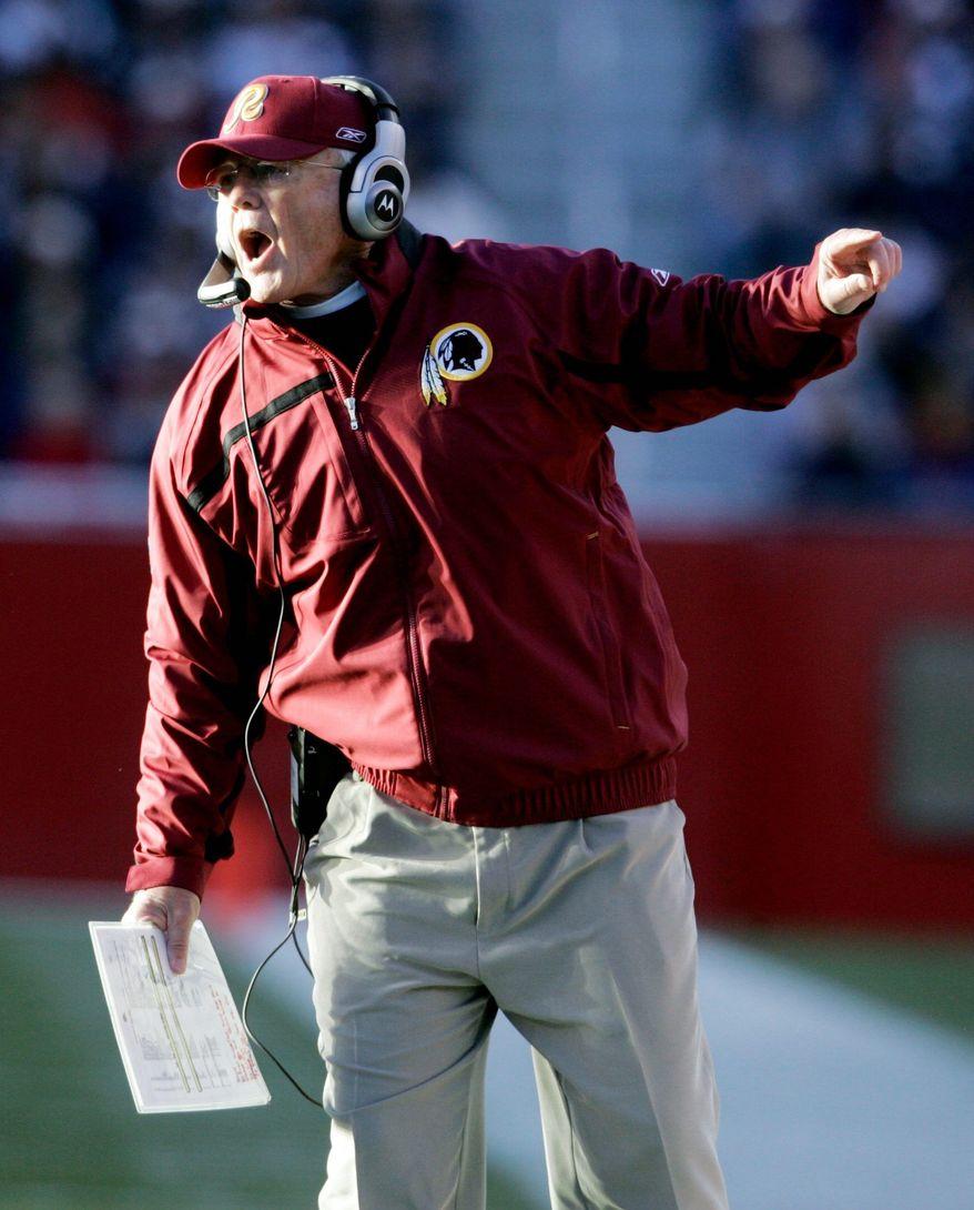Joe Gibbs led the Redskins to three Super Bowl championships. (Rod Lamkey Jr./The Washington Times)