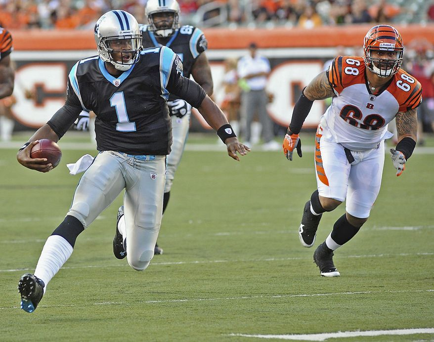 associated press If the Redskins get off to a decent start, they enter a key stretch Oct. 23 against No. 1 overall pick Cam Newton and the Panthers in Charlotte.