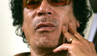 Col. Moammar Gadhafi