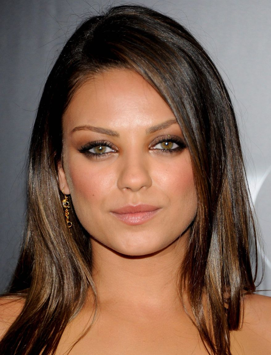 Actress Mila Kunis attends a premiere for 'Friends With Benefits' at the Ziegfeld Theatre on Monday, July 18, 2011 in New York. (AP Photo/Evan Agostini)