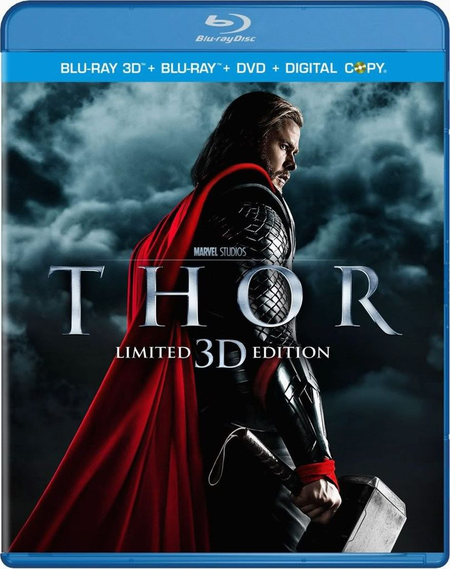 """DVD cover for """"Thor"""" released by Paramount Home Entertainment"""