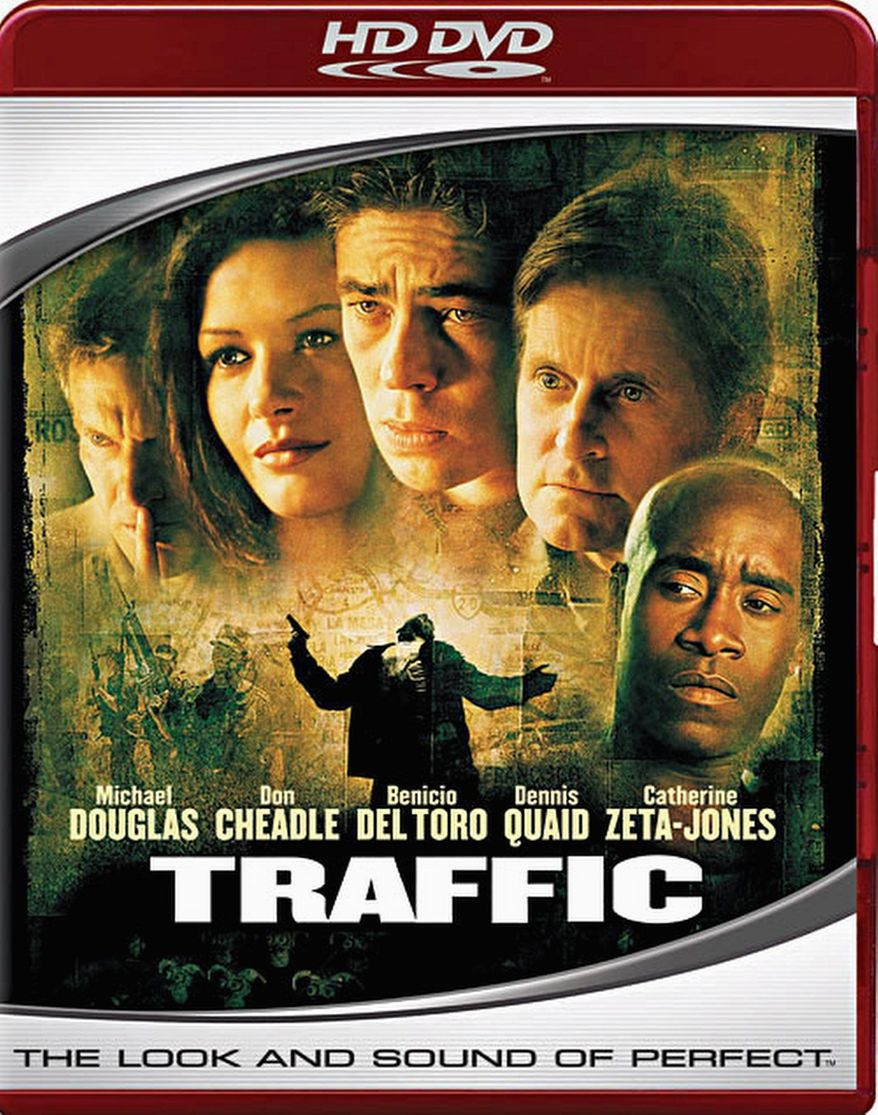 "DVD cover for ""Traffic"""