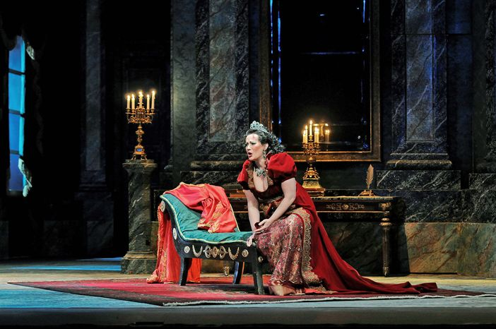 "KENNEDY CENTER The Washington National Opera's production of ""Tosca"" includes soprano Patricia Racette, tenor Frank Porretta and bass baritone Alan Held. Puccini's timeless masterpiece of passion and political intrigue opens the WNO's 2011-2012 season."