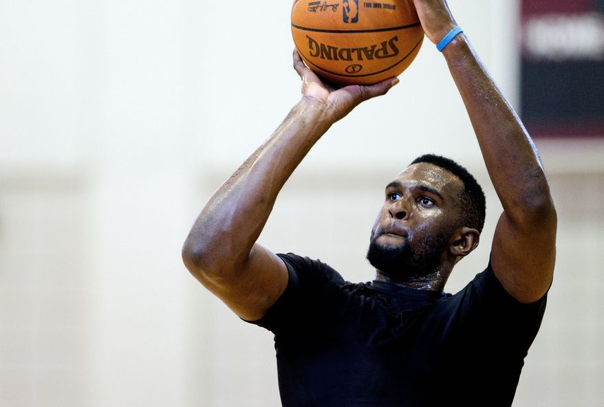 The Washington Wizards aren't planning on adding any big-time free agents prior to the start of the season, but they want to continue to develop the young players they have, and first-round pick Chris Singleton is one of those players. (Colin Hackley/Special to The Washington Times)