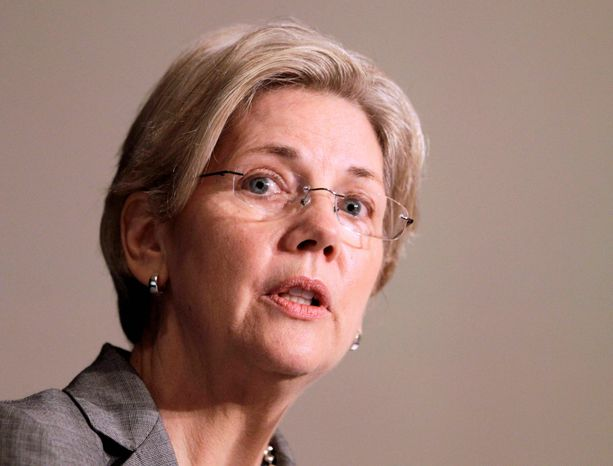 Elizabeth Warren, thwarted in her bid to head a new federal regulatory agency, now has her eye on a Senate seat. (Associated Press)