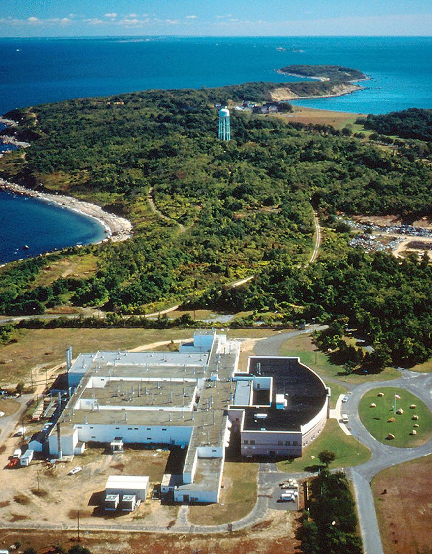 **FILE** This undated photo provided by the Agricultural Research Service of the U.S. Department of Agriculture shows Plum Island, a tiny island off the coast of New York's Long Island where the nation's primary animal disease laboratory is located. (Associated Press/USDA-ARS)